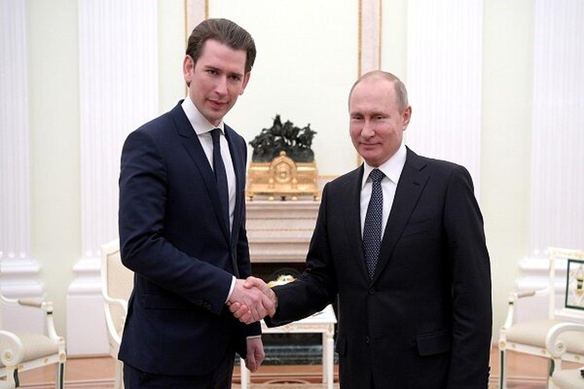 پیشنهاد اتریش به پوتین برای میزبانی جلسه روسیه و آمریکا