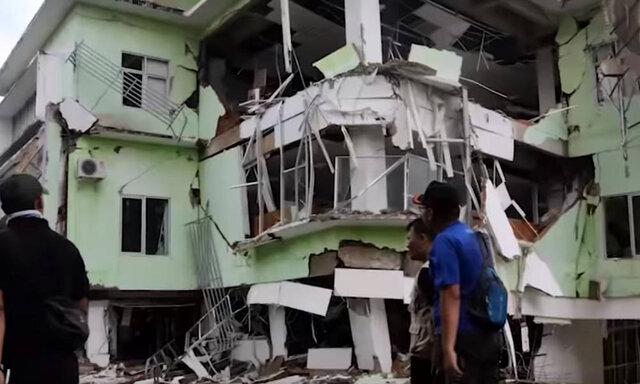 افزایش قربانیان زلزله اخیر در اندونزی