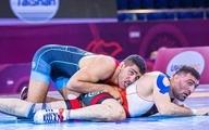علیزاده با شکست قهرمان المپیک به مدال برنز رسید
