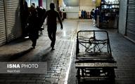 بازار تهران در روزهای کرونایی آخر سال