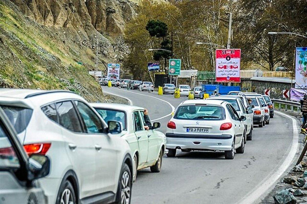 بازگشایی جاده چالوس و محور هراز و آزادراه تهران-شمال