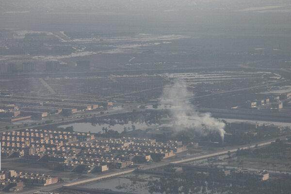 ادارات لرستان تعطیل شدند | آلودگی هوا به ۱۶ برابر حد مجاز رسید