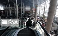 مسافران فرودگاه امام خمینی 97درصد کاهش یافته است