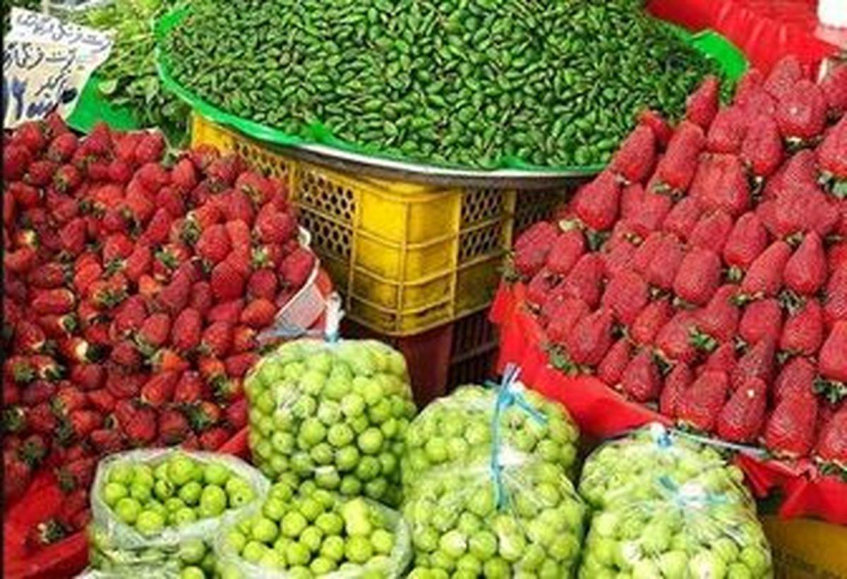 قیمت میوه های بهاری در بازار +جدول