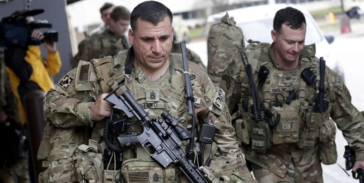 نیویورکتایمز: اکنون آمریکا ۵۲۰۰ نیرو و ۲۹ کشور متحد آن ۱۲۰۰ نیرو در عراق دارند
