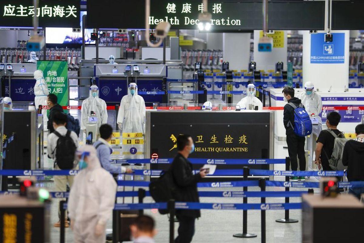 شمار مبتلایان بار دیگر در چین دو رقمی شد