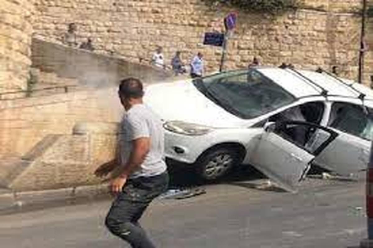 شهرکنشین اسرائیلی یک فلسطینی را در قدس با ماشین زیر گرفت