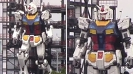 بدون کمک ربات ۱۸ متری ژاپنیها راه رفت