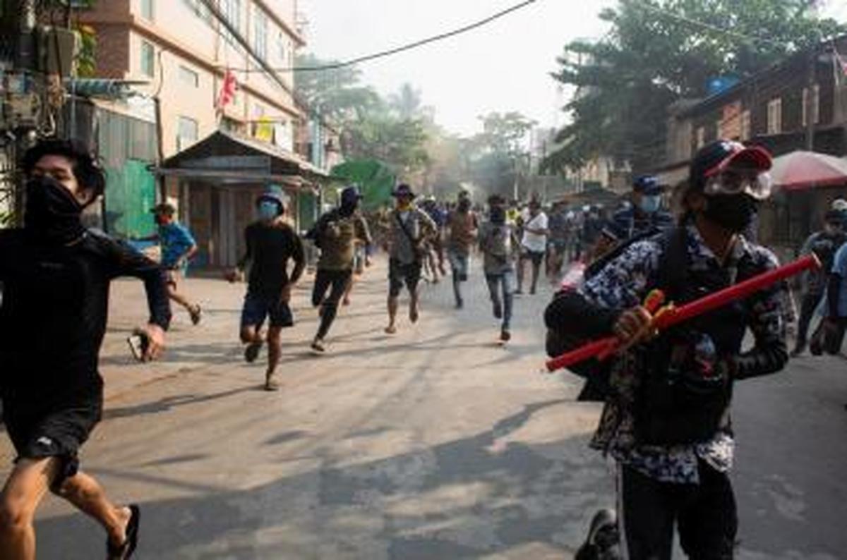تحریم های جدید آمریکا علیه میانمار اعمال شد
