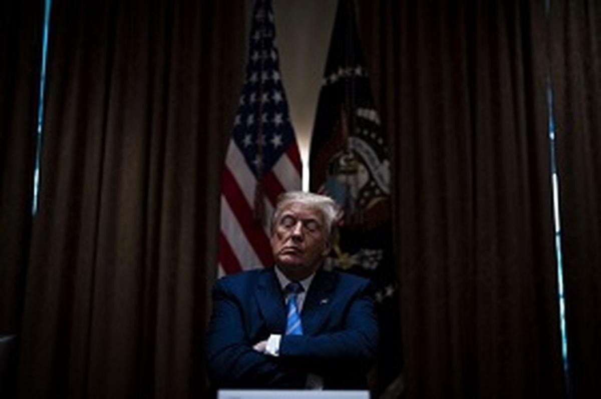مشاوران ترامپ     شاید او نتایج را بپذیرد اما هرگز به شکست اذعان نمیکند