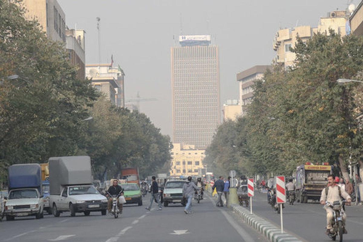 تداوم آلودگی اُزُنی هوای تهران