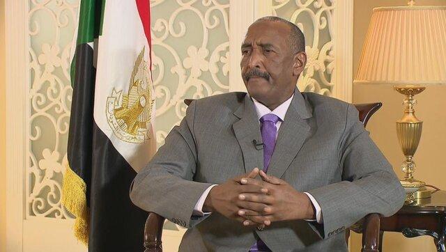 البرهان پرونده حذف نام سودان از لیست ترور را به امارات برد