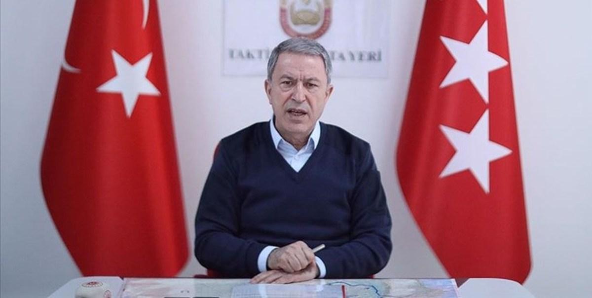 هشداروزیر دفاع ترکیه به طرفهایی که درباره اشغال خاک آذربایجان سکوت کرده اند