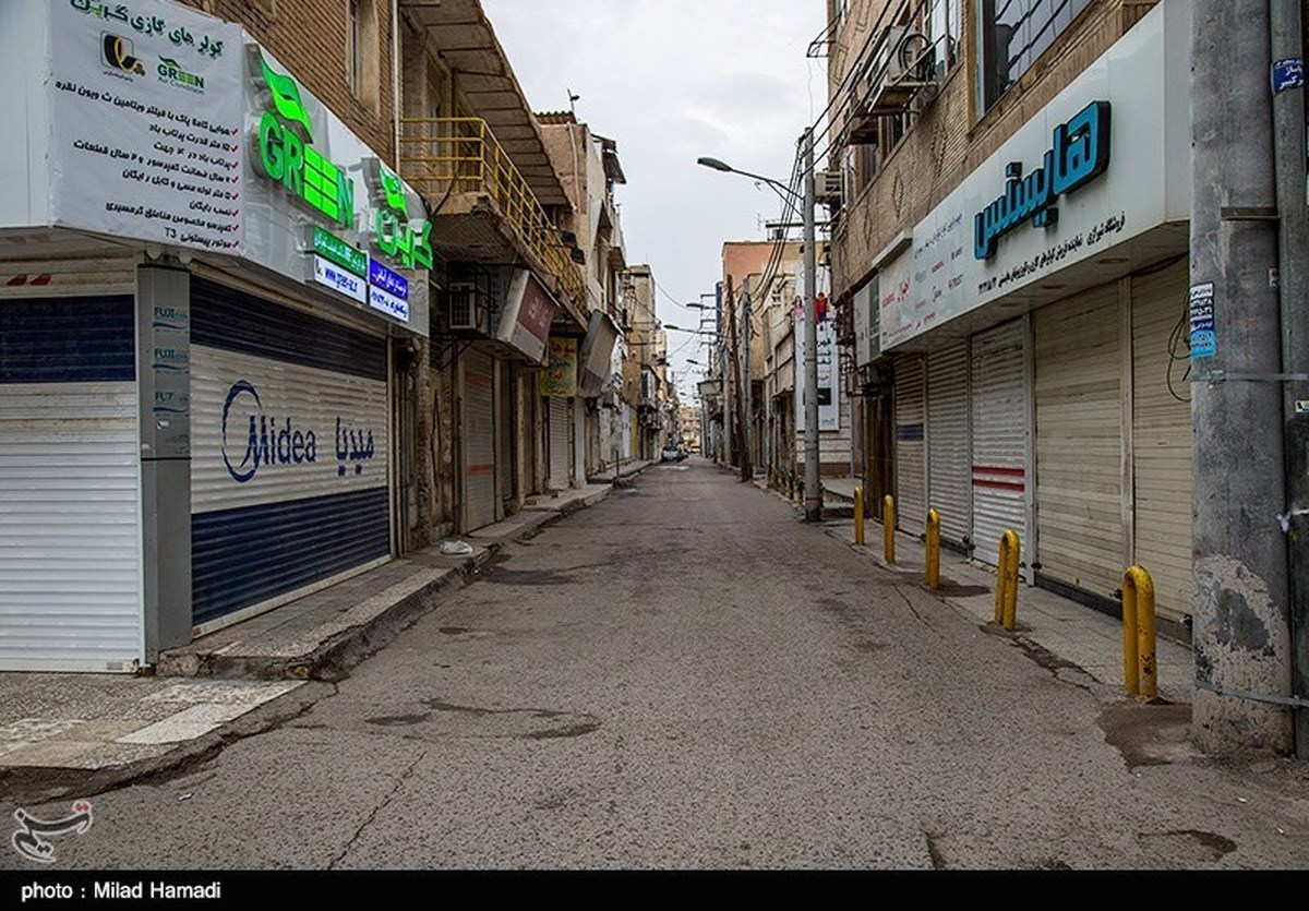 تمام واحدهای صنفی غیرضروری در آذربایجان غربی تعطیل شد