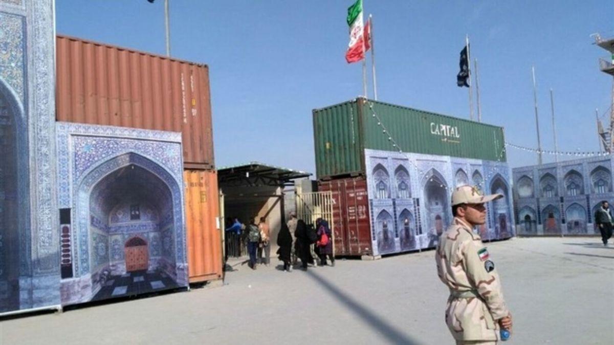 جلوگیری از خروج ۴۵۰ نفر از مرز مهران|۱۲۰ خودرو برگشت داده شد