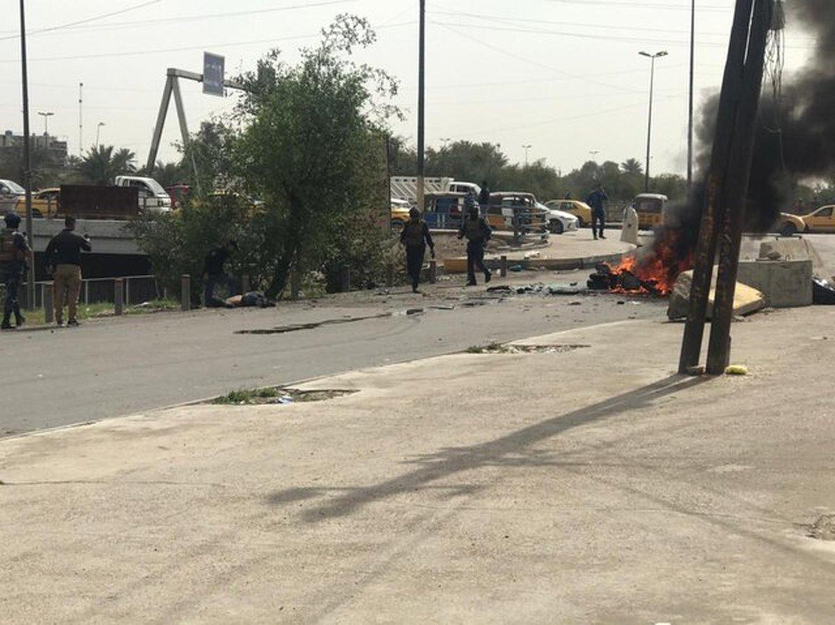 حادثه  |  انفجار تروریستی در بغداد، یک نفر کشته شد