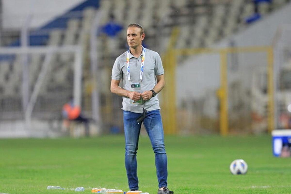 گلمحمدی: بازیکنان ما با مشکلات زیادی وارد مسابقات شدند