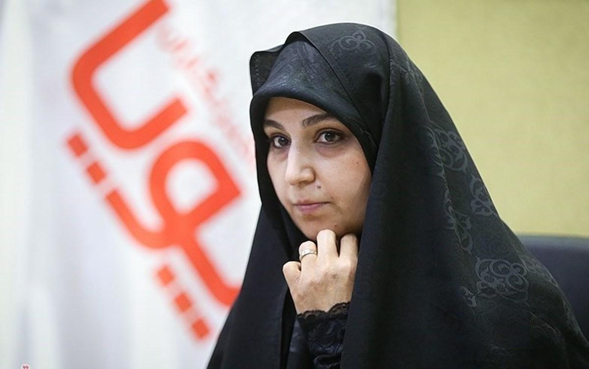تصاویر جالب از نشست خبری دختر شهید سلیمانی  دختر شهید سلیمانی کاندیدای شورای شهر تهران
