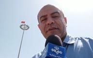 گزارشی از نصب پرچم تیم پرسپولیس در جزیره قشم