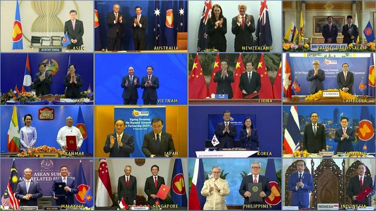 در غیاب آمریکا بزرگترین اتحادیه تجارت آزاد جهان با حمایت چین تشکیل شد.
