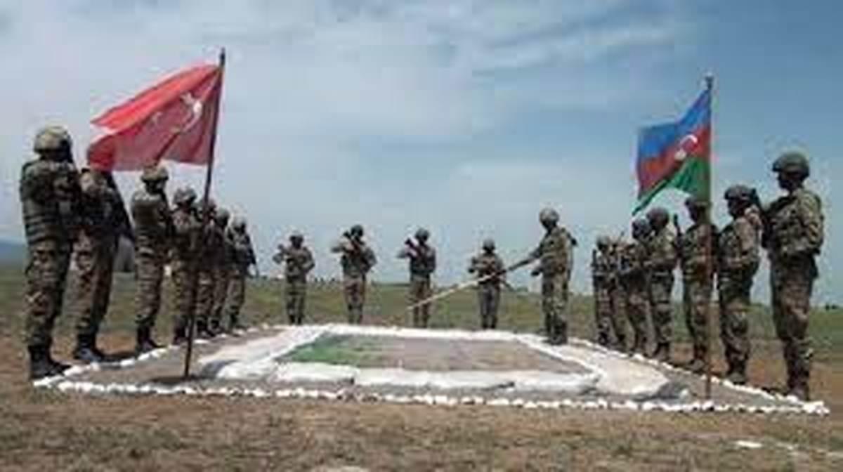 رزمایش مشترک بزرگ بین ترکیه و جمهوری آذربایجان در «لاچین»