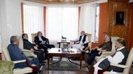 سفیر ایران در افغانستان با عبدالله و کرزی دیدار کرد