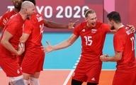 والیبال المپیک توکیو | لهستان 3-0 ایتالیا