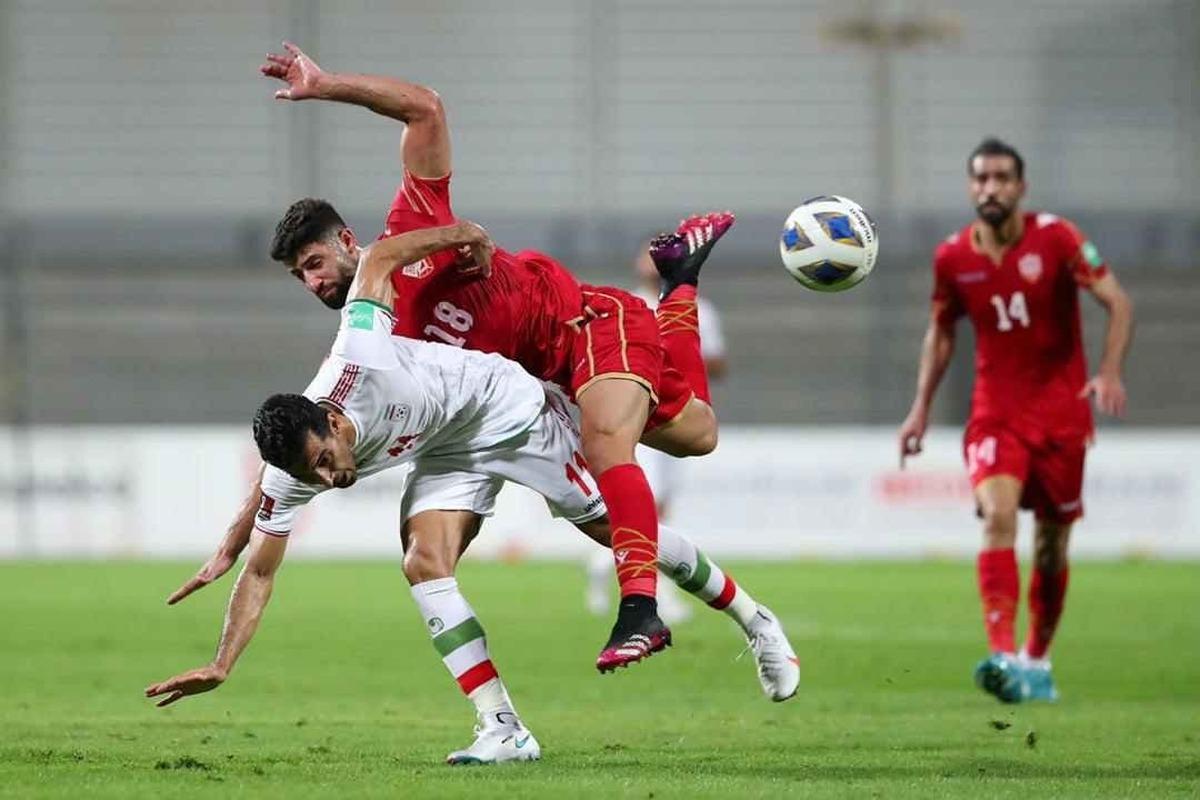 رفتار عجیب وزیر ورزش بحرین قبل از رویارویی با ایران