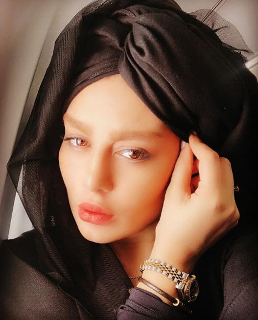 حجاب عجیب سحر قریش