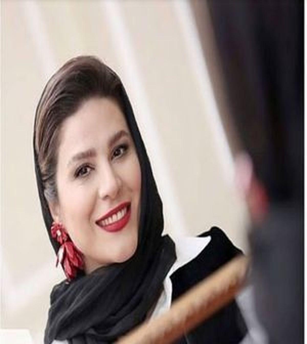 «سحر دولتشاهی» درآغوش کارگردان «خط فرضی»+ عکس