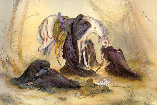 ماندگارترین نقاشیها از عاشورا