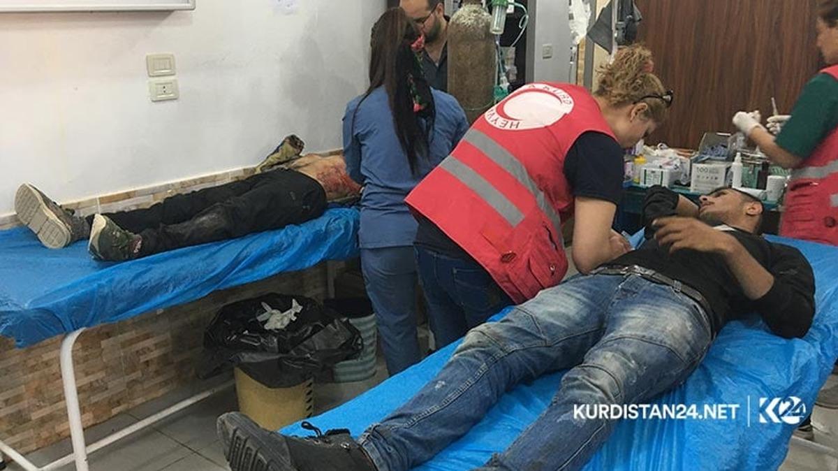 13کشته و 70 زخمی در حمله توپخانهای ترکیه به کاروان آوارگان سوری