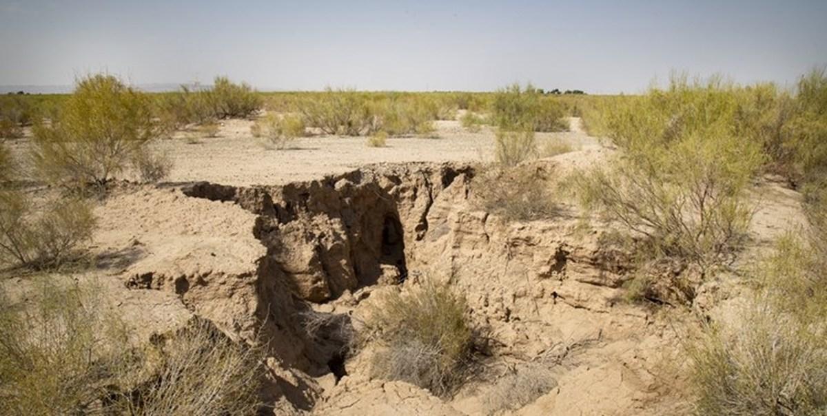 فرونشست زمین در اصفهان؛ ۹۵ درصد استان درگیر خشکسالی است