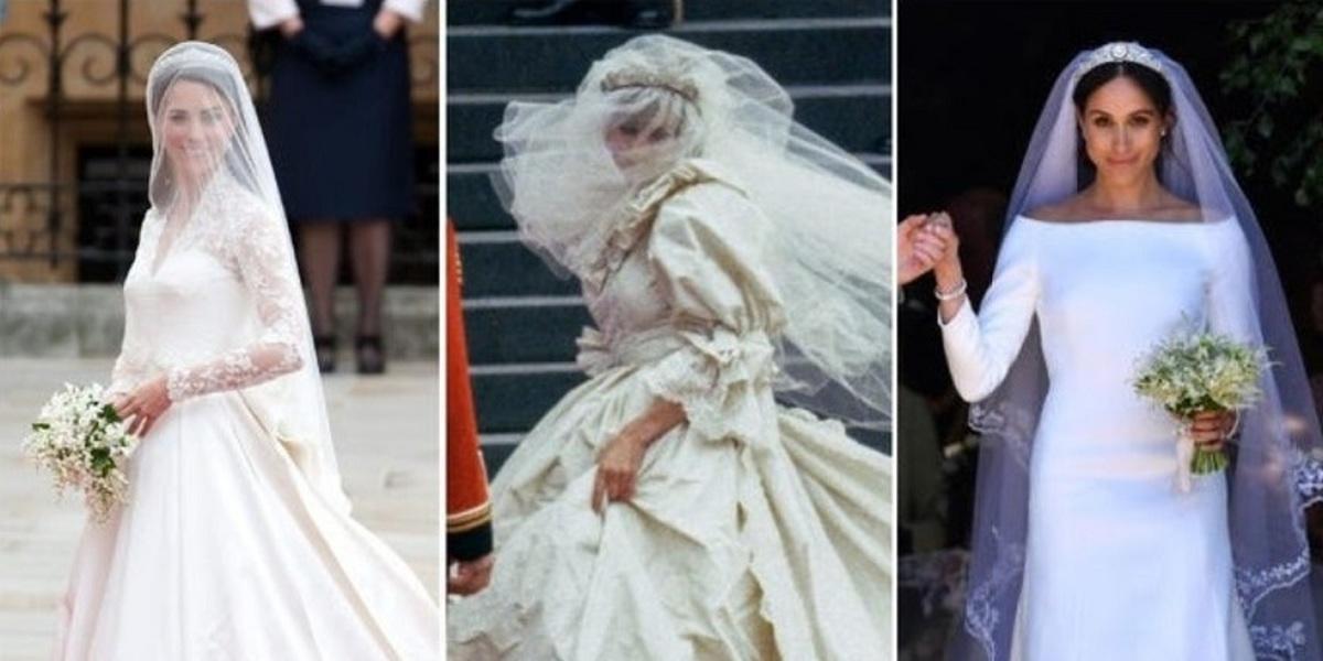 گران قیمت ترین لباس های عروسی خاندان های سلطنتی دنیا