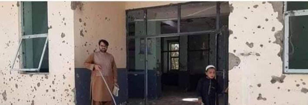 غارت و تخریب یک بیمارستان +عکس
