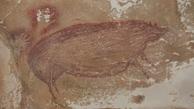 کشف قدیمی ترین نقاشی جهان/ 45 هزار ساله در غار اندونزی