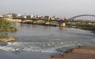 کارون|خشکی رودخانه کارون یک تهدید جدی
