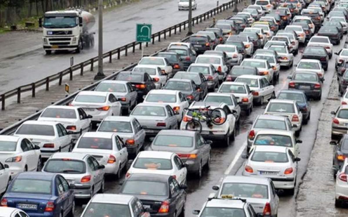 ترافیک سنگین در محور هراز  |  ترافیک سنگین در آزادراه قزوین –کرج