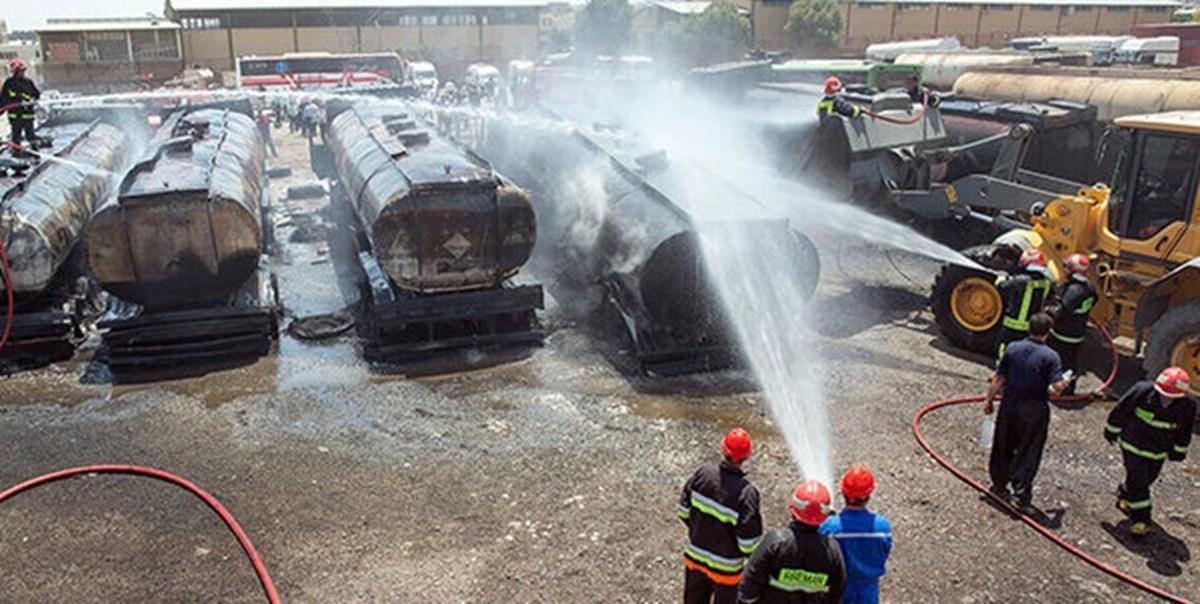 آتشسوزی گمرک دوغارون ۲۵۰ میلیارد ریال خسارت برجای گذاشت
