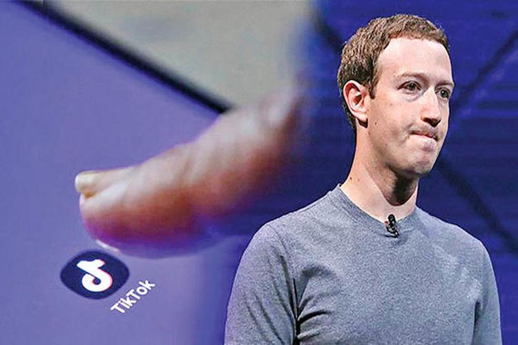 تیک تاک فیس بوگ را نگران کرد