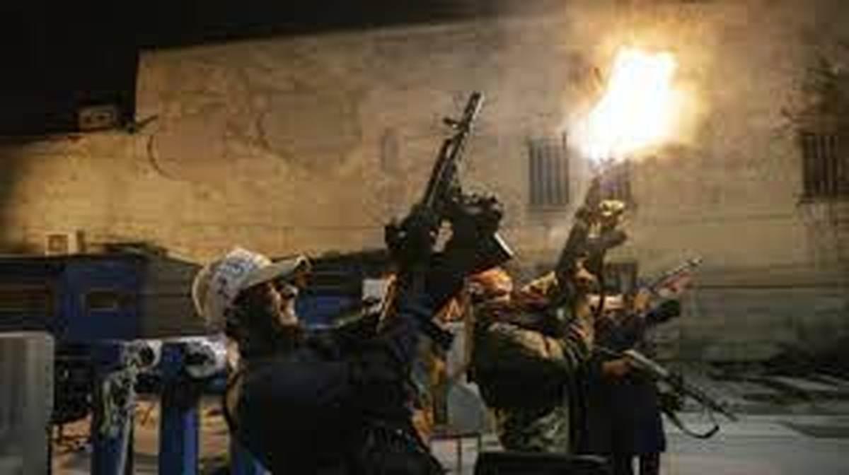 طالبان از شلیک هوایی استفاده کرد