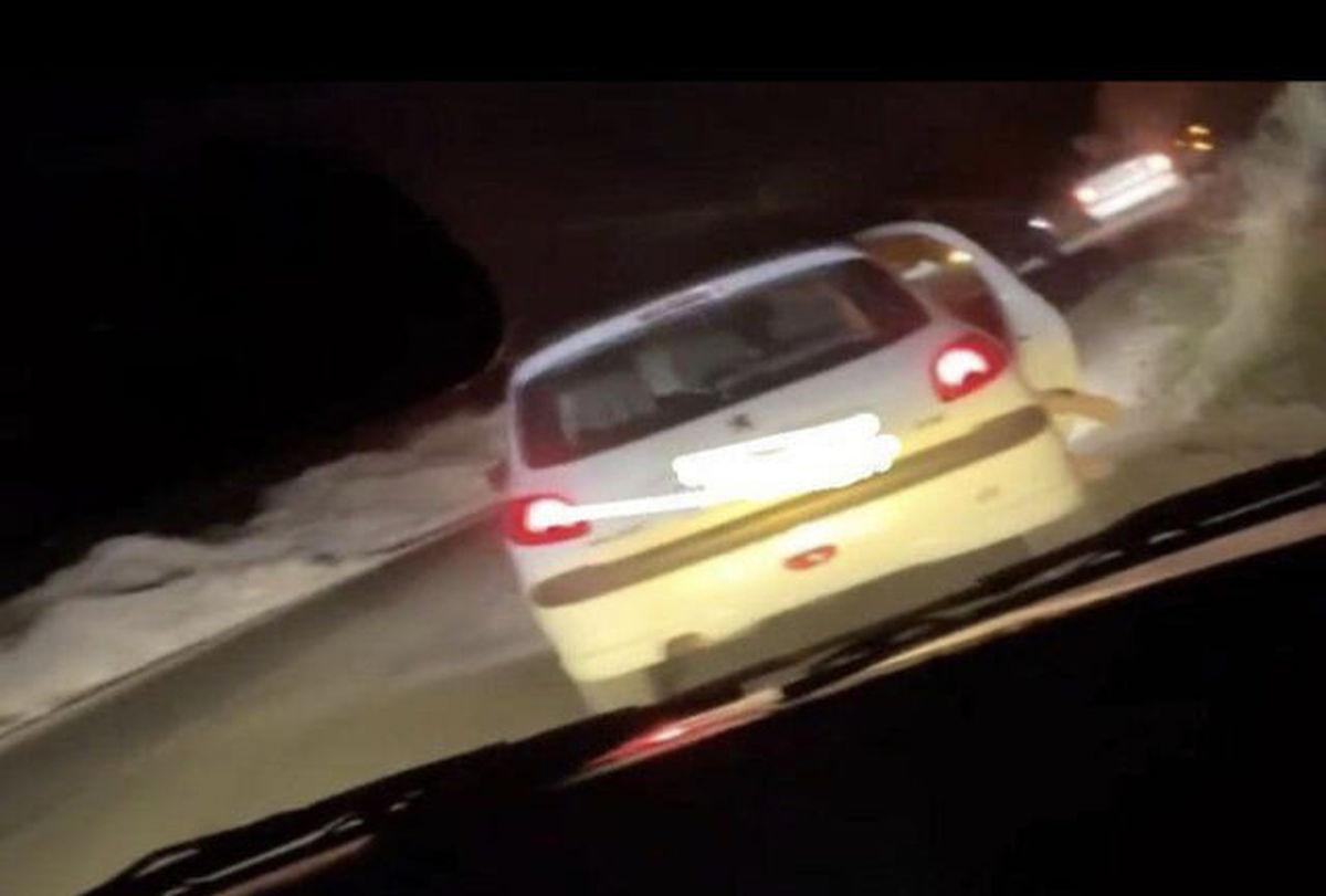 فیلم پخش شده از جاده تلو موضوع آدم ربایی نبوده است
