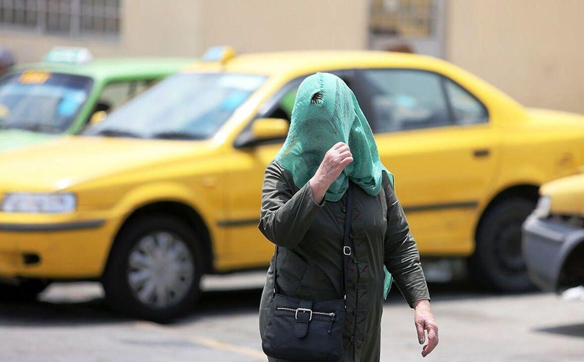 دمای تهران به ۴۰ درجه میرسد |  وقوع رگبار در سه استان جنوبی