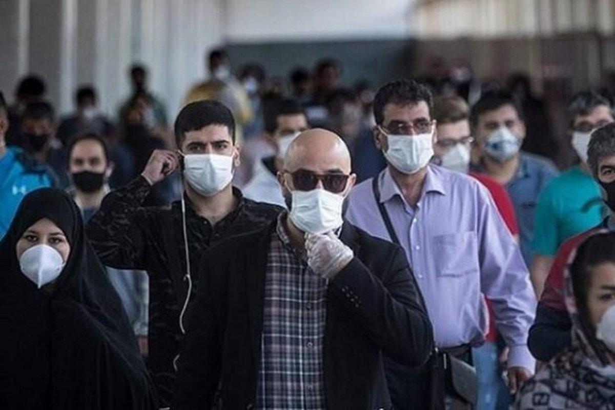 استفاده از ماسک در برخی از استانها به زیر ۱۲ درصد رسیده