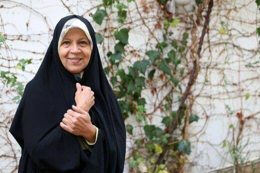 فائزه هاشمی هم رأی داد |  انتخاب او همتی بود