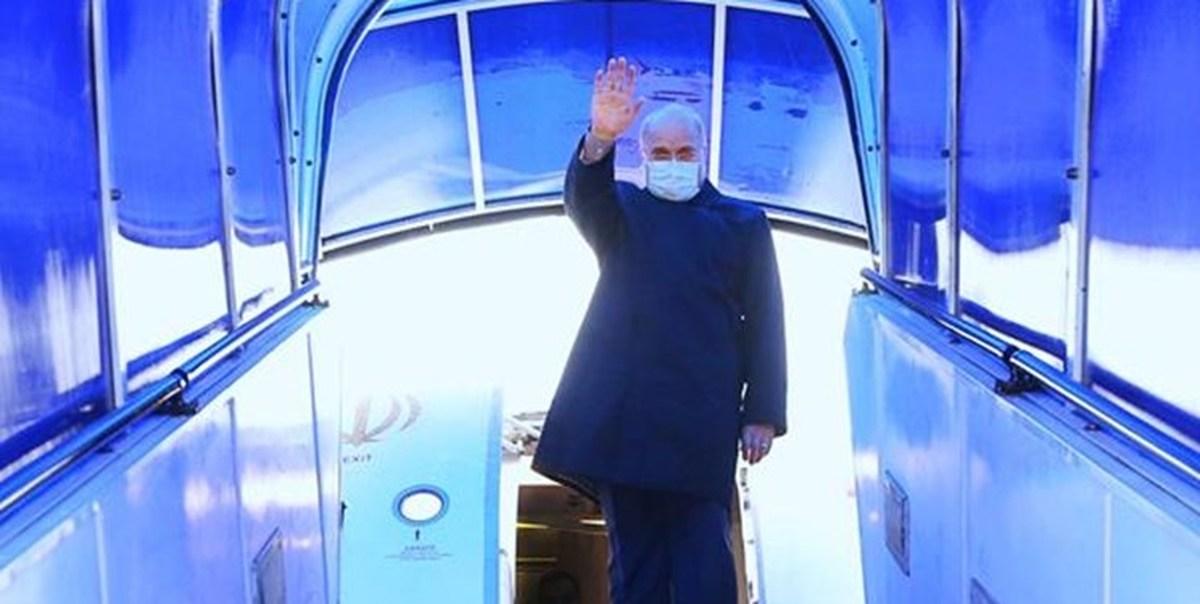 قالیباف |  سفر سه روزه رئیس مجلس به پایان رسید