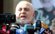 ظریف  |   آقایانی که میگویند ما این توافق را نخواندیم بیایند دو صفحه توافق خود را نشان دهند