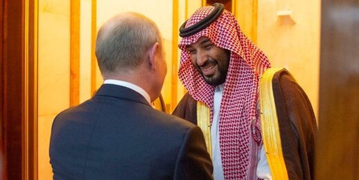 پوتین با بن سلمان دیدار کرد