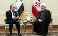 روحانی در دیدار نخست وزیر سوریه: ملتهای منطقه نباید برای پایان دادن به حضور نظامی آمریکا آرام و قرار داشته باشند