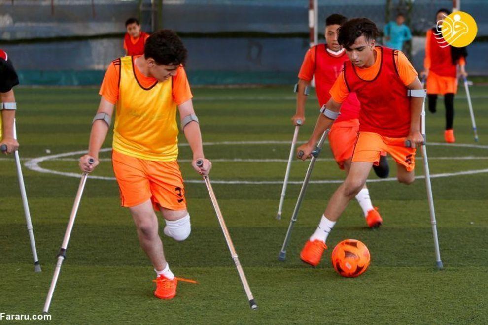 فوتبال |  دختران و پسران قطع عضو شده فلسطینی بر اثر حملات رژیم صهیونیستی